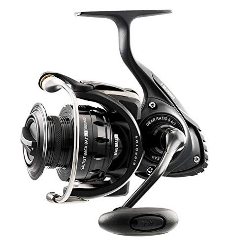af5bddbf33d Daiwa Saltist Back Bay Spinning Reel 6BB + 1RB, 5.6: 1 STTBB3000LT Fishing  Reel
