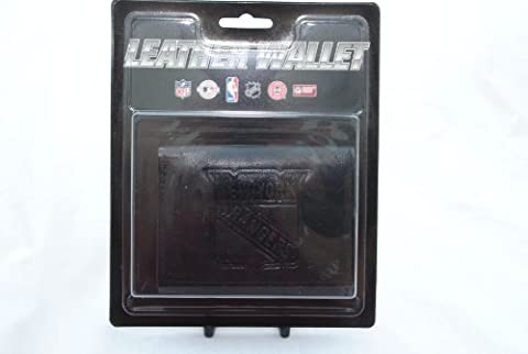 New York Rangers Black Leather Tri-fold