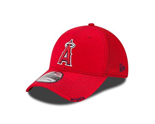 New Era MLB Neo 39THIRTY Stretch Fit Cap, Herren, NEO ANAANG Team, Los Angeles Angels, M/L