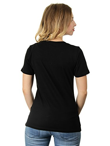Cuteness Overload - Damen T-Shirt von Kater Likoli Deep Black