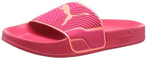 Puma Leadcat TS, Zapatos de Playa y Piscina Unisex Adults'o, Rojo Love Potion-nrgy Peach 08, 43 EU