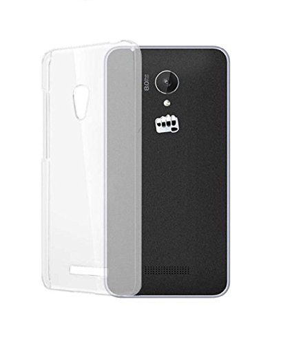 COVERNEW Back Cover for VIVO Y21L, VIVO Y21(Transparent, Rubber)
