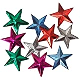 Christmas Tree Decoration Hanging Star Pack Of 10