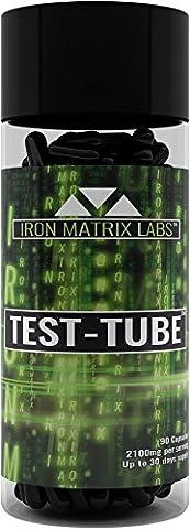 Fer Matrix Labs test-tube naturel la testostérone Support Formule 90gélules