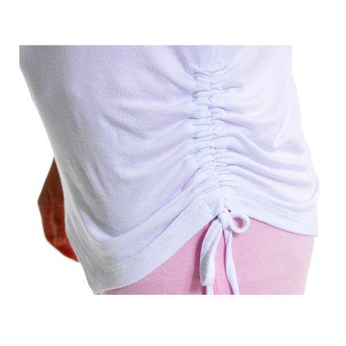 Completo elastico Sports Clothes per donna (3 pezzi) per Yoga o corsa, 95% modal. Black