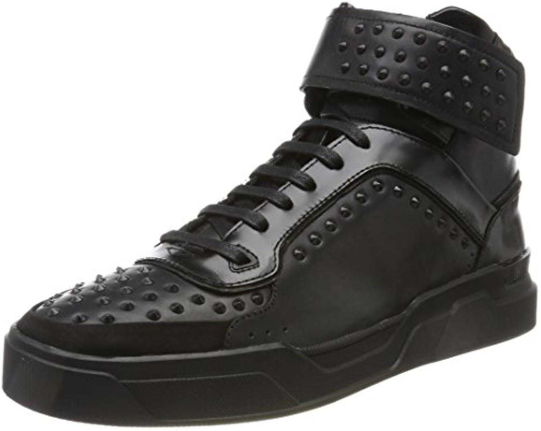HUGO Herren Symmetric_hito_st Hohe Sneaker  Billig und erschwinglich Im Verkauf