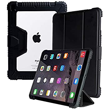 """ProElite Rugged Shockproof Armor Smart flip case Cover for Apple iPad Air 3 /Pro 10.5"""" with Pencil Holder"""