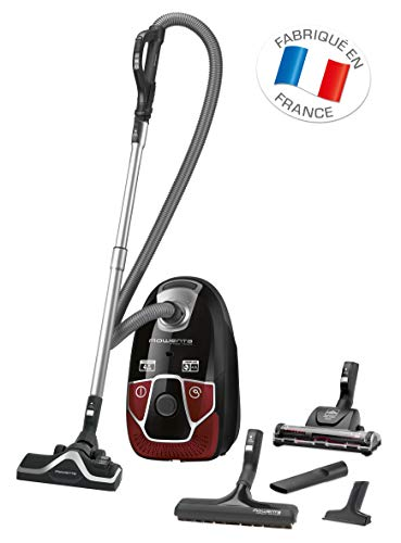 Rowenta Aspirateur Avec Sac X-Trem Power Animal Care Pro Capacité 4,5L 550W Accessoires Spéciaux Poils d'Animaux RO6883EA