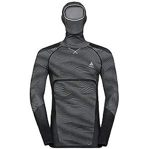 Odlo Herren Shirt Suw Top with Facemask L/S Performance Blackcomb