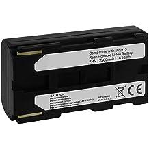 Batería BP-915 para Canon 6500V... / MV1, MV10... / UC-V10, V20... X50... / XM2, XV2.. - ver lista
