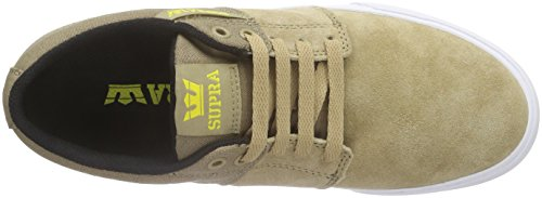 Supra Stacks Vulc Ii, Sneakers Basses mixte adulte Marron (KHAKI - WHITE KHK)