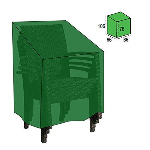 Papillon 8327000 – Housse de Protection pour chaises empilables, 66 x 66 x 76 x 106 cm (l x L x h x H)
