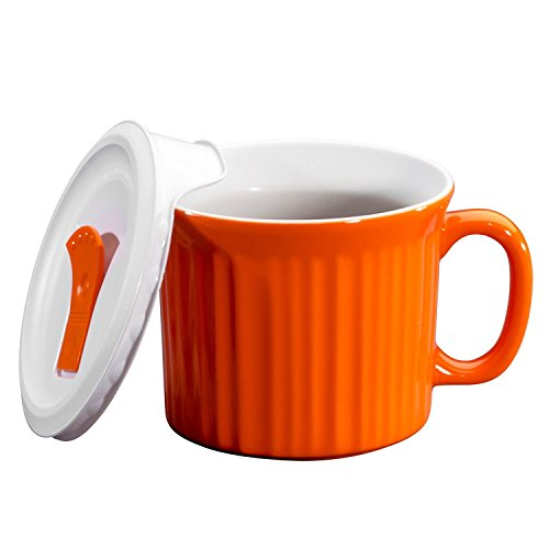 Corningware-becher (Corningware Halloween Pop-Ins Mugs, Orange by CorningWare)