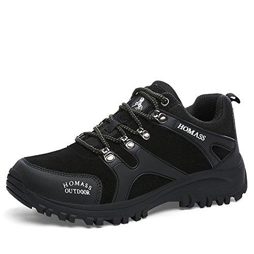 Dreamshow Wanderschuhe Herren Wasserdichte Leichte Atmungsaktive Outdoor Trekking Schuhe Wanderstiefel 38-45