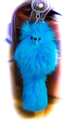 kaufen-2-erhalten-1-gratis-groe-trkisblauen-mantel-keyring-pompom-charme-tierfell-einzigartiges-gesc