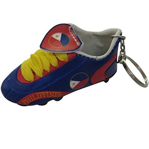 Fußball Soccer Futbol Mini Schuh Schlüsselanhänger Schlüsselanhänger-Asien & Afrika (Land: Philippinen)