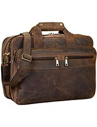 7d0648c9fa STILORD 'Alexander' Borsa da lavoro in pelle uomo donna Grande borsa porta  documenti e