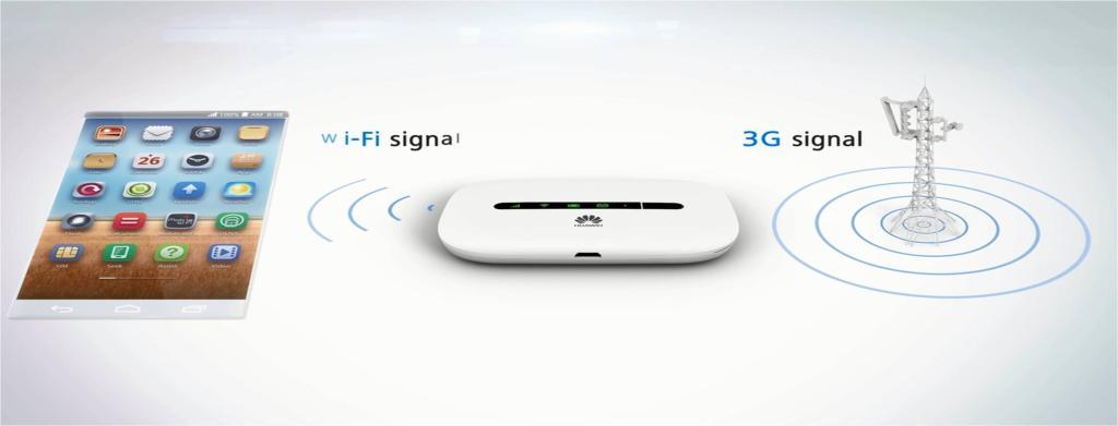 HUAWEI Mobile Wi Fi E5330 3G White 21MB s E5330 3G