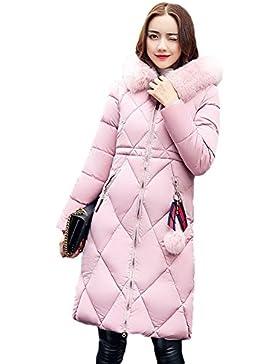 Mujeres sudadera con capucha Cardigan - hibote otoño manga larga casual sudadera superior blanco / rosa / caqui...