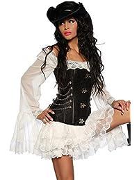 Chaussettes longues femmes A-Line SleeveDress blanc Blanc