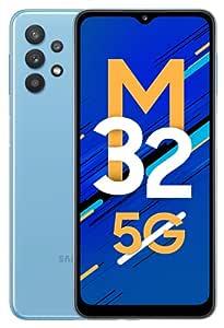 Samsung Galaxy M32 5G (Sky Blue, 6GB RAM, 128GB Storage)