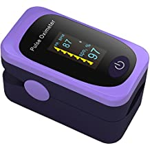 Pulse Oximeter Fingertip Oxygen Saturation Monitor Heart Rate Monitor Finger Paediatric Childrens Blood Sats Monitor spo2 Blood Oxygen Meter