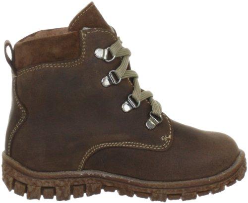 Lepi 4350LEQ, Chaussures montantes garçon Marron - Braun (4350 C09 CUOIO)