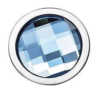 Pavo Real Diam Clásico Circle Aquamarine 18 mm