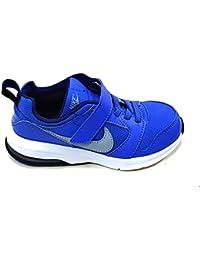 Nike 880301-400, Zapatos de Primeros Pasos Bebé-Niño, Azul (Comet Blue / Wolf Grey / Binary Blue), 28 EU