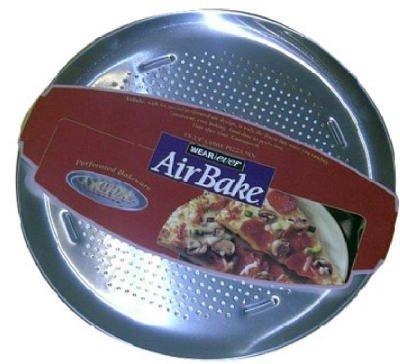 TFal/Wearever 081000PA AirBake Pizza-Pfanne, gelocht, 38,1 cm Lieferumfang: 6 Stück Airbake Pizza Pan