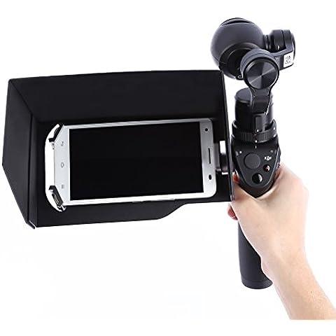 Pixnor 5.5inch Smart Phone Tablet telefoni Parasole per DJI Osmo Handheld PTZ Camera - 5.5 Tablet