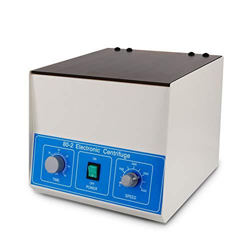 Centrifugeuse Laboratoire Professionnelle Électrique, IDABAY Mini Centrifugeuse Électrique Médicale Vitesse Réglable 4000RPM (12 x 20ml 40W Moteur Puissant)