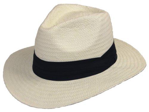 Scippis Western de Cow-Boy Chapeau de Paille Mineo crème Taille s