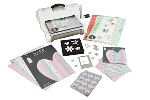 Sizzix 663069 Big Shot Plus Starter Kit, Plastica/Gomma/Acciaio, Multicolore, 47x38x24 cm