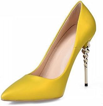 DIDIDD Zapatos de Moda Sex Señaló Zapatos de Tacones Altos Zapatos,UN,40