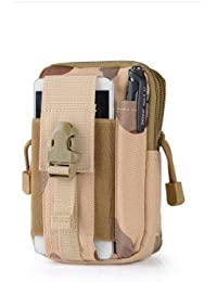 CP In Camouflage : Outdoor Military Tactical Belt Waist Bags Waterproof Mobile Phone Wallet Travel Sport Waist...