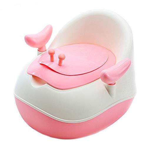 YN BABY Töpfchen Toilettentrainer mit Griffen und ab nehmbarem Sitzaufsatz inkl,Pink