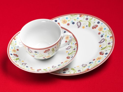 Ritzenhoff & Breker Doppio Servizio da caffè in Porcellana 18 Pezzi