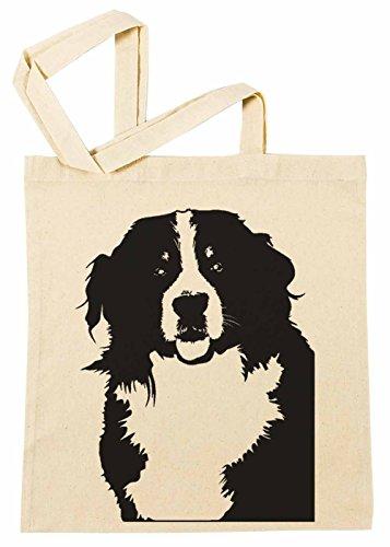 Erido Berner Berg Hund Rasse Einkaufstasche Wiederverwendbar Strand Baumwoll Shopping Bag Beach Reusable