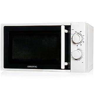 Cecotec Micro-onde Grill, 20L, 700W, 6 Niveaux de Puissance, 3 Modes Grill jusqu'à 900W, Décongélation