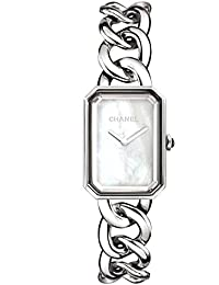 Chanel Premiere Mother of Pearl Dial Stainless Steel Ladies Watch H3251
