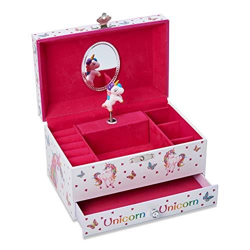 Lucy Locket Magische Einhorn Schmuckkästchen - Spieluhr für Kinder - 2