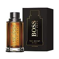 Hugo Boss Perfume  - Hugo Boss The Scent Intense for Him Eau De Parfum - perfume for men, 100 ml