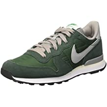 nike internationalist hombre verde