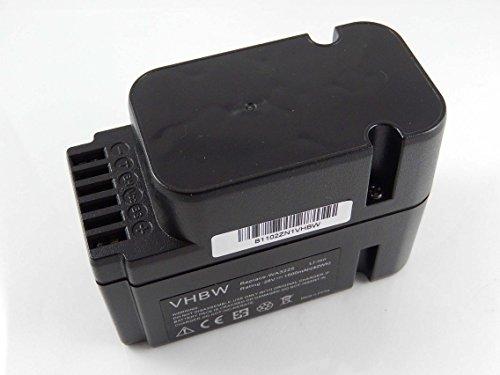 vhbw Li-Ion Akku 1500mAh (28V) für Rasenmäher Roboter Worx Landroid M1000 WG791E.1, M1000i WG796E.1, M500 WG754E, M800 WG790E.1 wie WA3225, WA3565.