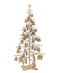 Unbekannt xmas3 SKU202, Albero di Natale M 125, naturale
