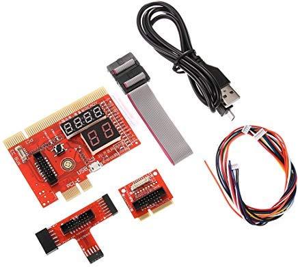 Runshuangyu PCI/PCIE/MiniPCIE/LPC/EC-Motherboard Diagnostic Analyzer Karten Tester PC Notizbuch Laptop
