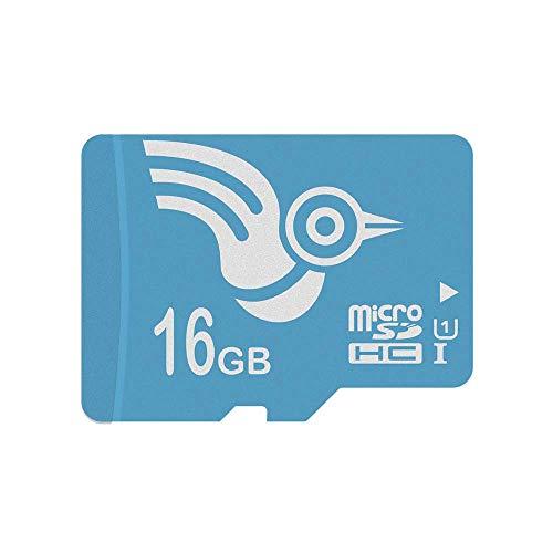 ADROITLARK Speicherkarte 16 GB Hochgeschwindigkeits-UHS-I-Micro-SD-Karte Class10 für Smartphones/Kameras/Gopro/Dash-Kameras (U1 16 GB) (Mobile Gb, Speicherkarte 16)