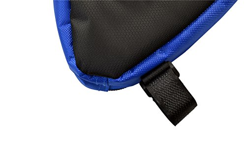 West Radfahren MTB/BMX Triangle Rahmen Fahrrad Tasche Bike Triangle Pack unter Sitz Top Tube reflektierender Rand Vorne Zubehör blau
