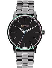 Nixon Damen-Armbanduhr XS Small Kensington Gunmetal Multi Analog Quarz Edelstahl A3611698-00